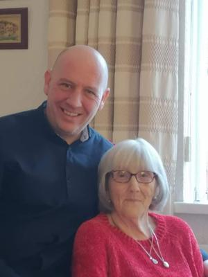 Ruth with youngest son Colin