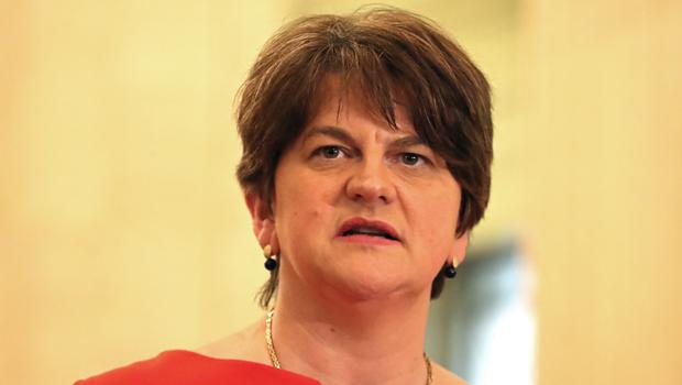 Arlene Foster said their is no appetite for a border poll (PA)