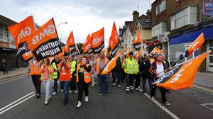 Members of the GMB union will walk out for 24 hours