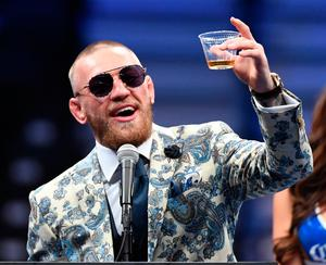Conor McGregor after the fight