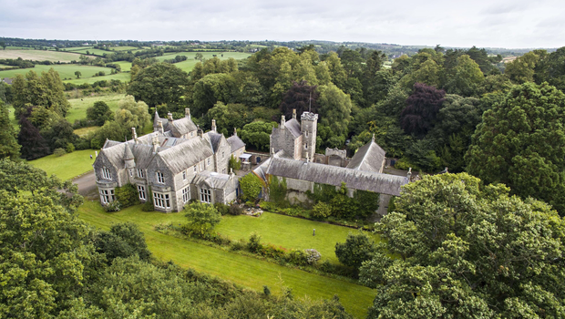 Gilford Castle in Co Down, which dates back to 1865, has been listed for sale with Savils