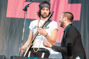 Kasabian's Serge Pizzorno and Tom Meighan
