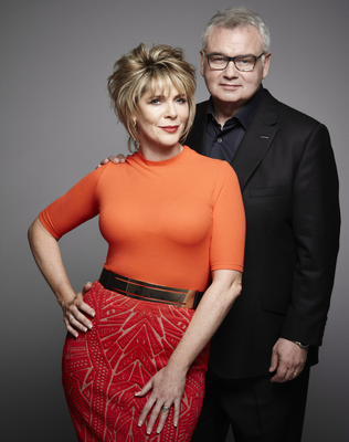 Eamonn Holmes with wife Ruth Langsford