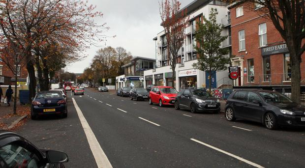 The Lisburn Road in South Belfast