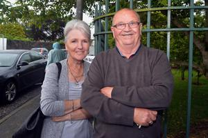 At the Hart Memorial Primary School, John and Mary Gibson