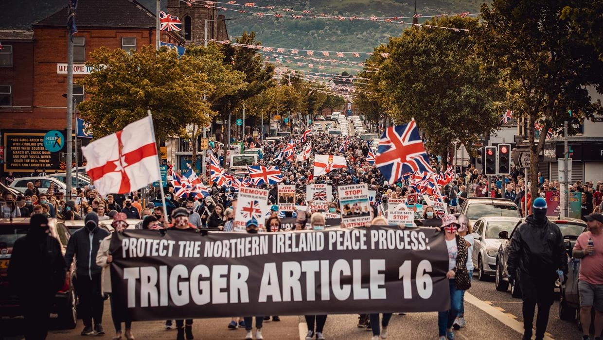 Loyalists could face prosecution over unlawful Brexit protocol protests