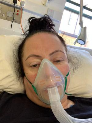 Michelle Montgomery is now recovering at home in Newtownabbey