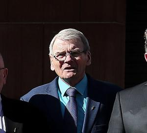 """Brian Turley, one of the """"Hooded men"""", is a co-applicant in the challenge (Brian Lawless/PA)"""