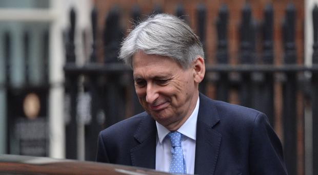 Chancellor of the Exchequer Philip Hammond (Kirsty O'Connor/PA)