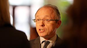 Director of Public Prosecutions Barra McGrory faced a barrage of criticisms