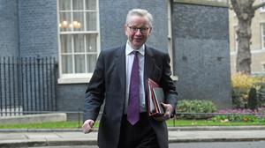 Cabinet Office Minister Michael Gove is being urged to publish the findings of a government review looking at how to strengthen the union. (Kirsty O'Connor/PA)