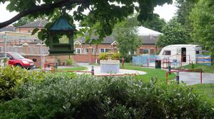 The Magical Memory Garden at Palmerston Residential Care Home in east Belfast (Palmerston Residential Care Home/PA)