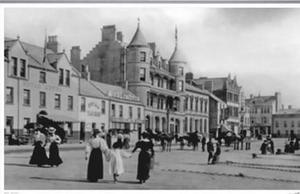 The seafront hotel back in 1897