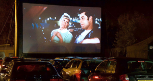 Movies such as Grease are very popular among people attending drive-in cinemas, say Full Swing Entertainment's owners
