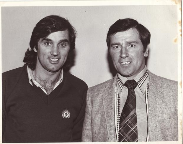 George Best  with Gerald Black