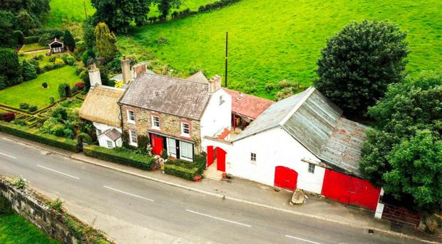 The picturesque Grade A-listed home on the Ballyarton Road near Claudy
