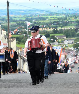 160 bands have applied to march on the Twelfth weekend