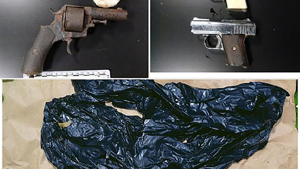 Some of the significant terrorist items seized during the 12-day search operation by the PSNI