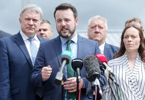 Colum Eastwood, who has called on Sinn Fein to end its abstentionist policy