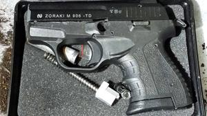 One of the firearms seized in a national operation targeting online customers (NCA)