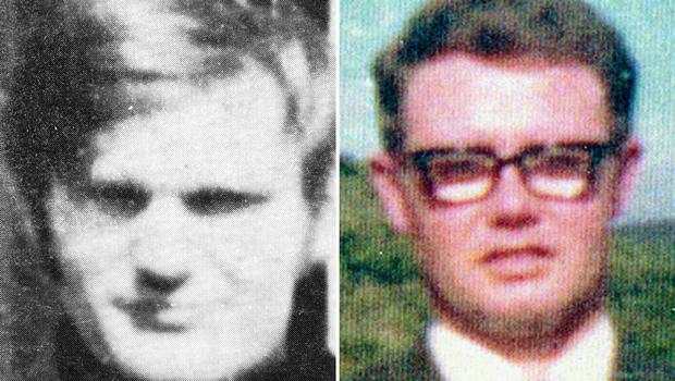 James Wray (left) and William McKinney, who died on Bloody Sunday (PA/Bloody Sunday Trust)