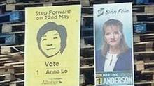 Insults: The election posters