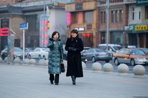 First Minister Arlene Foster in Shenyang with Madam Wang Shuying, Chinese Consul General in Belfast