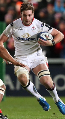 Ulster Rugby player Iain Henderson