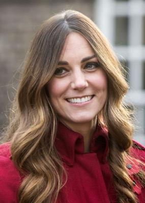 Duchess of Cambridge with grey roots