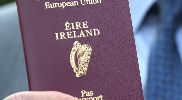 A record 900,000 people applied for an Irish passport this year, ranging in age from five days to 101 years. (Brian Lawless/PA)