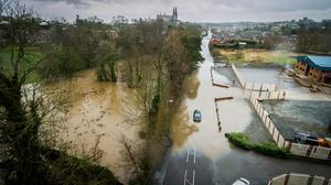 Armagh: Flooding pictures taken by Patrick Hughes and Mark Hillen using drones to capture the aerial images