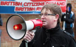 Willie Frazer is charged with six offences