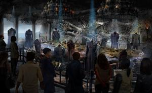 What the Game Of Thrones tour to be located at the Co Down studios will look like when operational