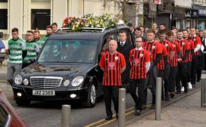 The funeral of Bryan Magill takes place in Newry