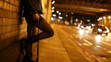 An ex-prostitute says the number of sex workers in the Irish Republic rose 80% since last year's ban in N Ireland