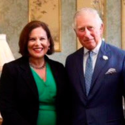Mary Lou with Prince Charles