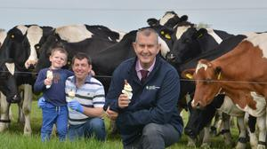 Extra funding for farm businesses struggling with the coronavirus pandemic in Northern Ireland is a 'lifeline', minister Edwin Poots said (Simon Graham/DAERA/PA)