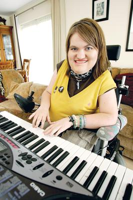 Michaela Hollywood is a founder of Trailblazers, which lobbies on behalf of disabled youth