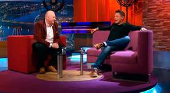 Stephen Clements on Nolan Live with Stephen Nolan last year