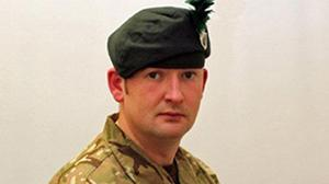 Corporal Geoffrey McNeill was found dead at Clive Barracks in Tern Hill, Shropshire