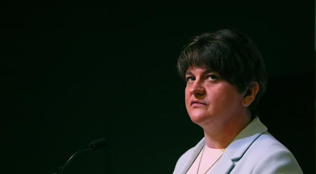 DUP leader Arlene Foster has come under pressure to distance herself from legacy proposals contained in the Stormont House Agreement. (Brian Lawless/PA)