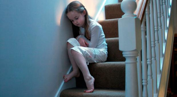 Reports of child neglect to Northern Ireland's NSPCC helpline have increased by a staggering 70% in five years, new figures from the charity reveal. File image posed by model