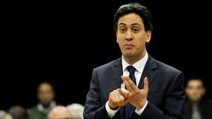 "Ed Miliband has pledged a Labour government would be ""engaged"" with the particular challenges facing  post-conflict society in Northern Ireland"