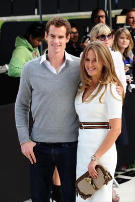 Andy Murray and Kim Sears announced their engagement yesterday