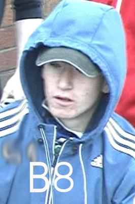 Police are today releasing images of people they wish to speak with in relation to serious public disorder in Rosapenna Street last summer
