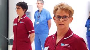 A video message from doctors, nurses and physiotherapists in the Belfast Health and Social Care Trust's respiratory team has received widespread praise as views passed one million within hours of it going online (Belfast Health and Social Care Trust/PA)