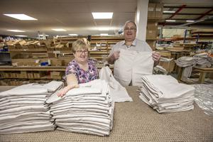 Alison and Harold McCloy, founders and owners of Village Blinds in Pennybridge Industrial Estate in Ballymena