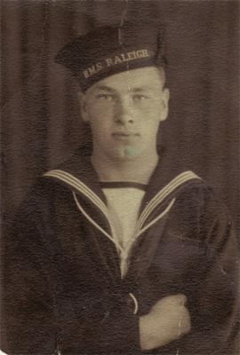 Serving in the Royal Navy during WWII