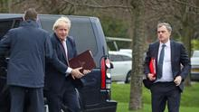 There was dismay in Northern Ireland after Boris Johnson sacked Julian Smith (Liam McBurney/PA)