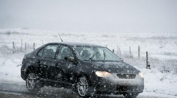 A yellow weather warning for snow and ice has been issued for NI.